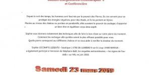 CONFERENCE SUR LA LITHOTHERAPIE